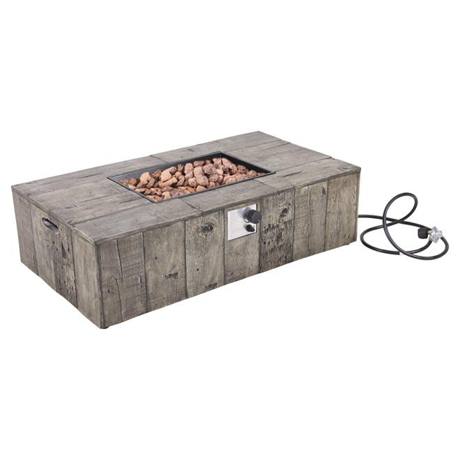 50 000 btu outdoor fireplace rona for Foyer gaz exterieur