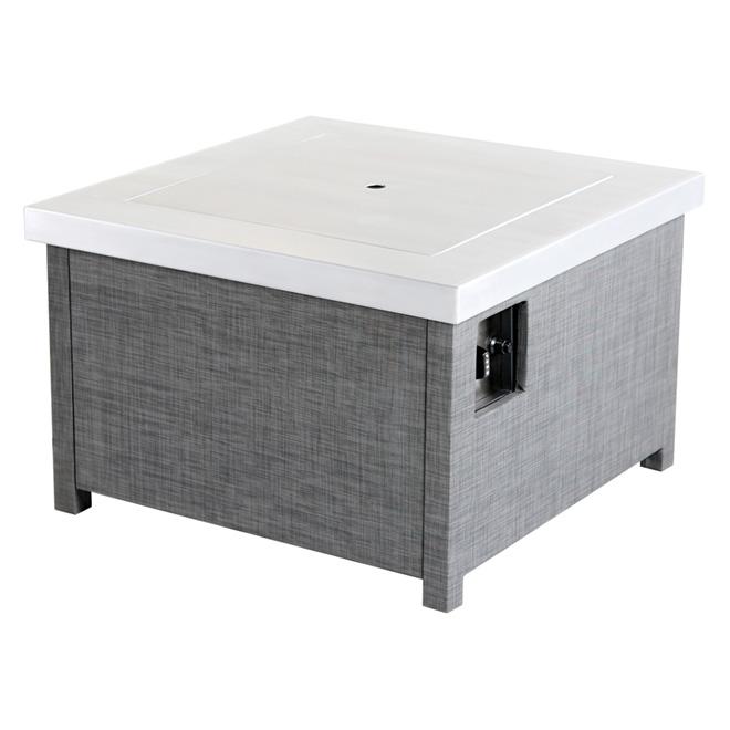 Foyer de table ext rieur au propane marquis 50 000 for Table exterieur largeur 50