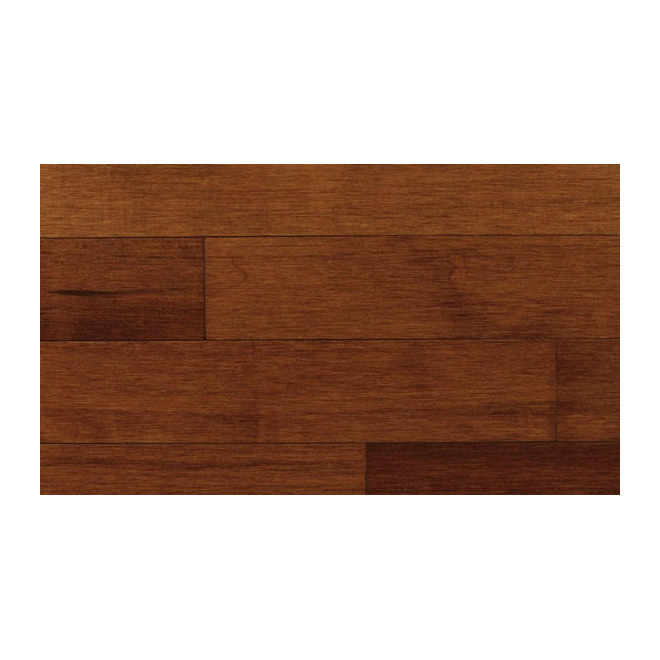 "Maple Hardwood Flooring 3/4 x 31/4"" - Prince Albert Chestnut"