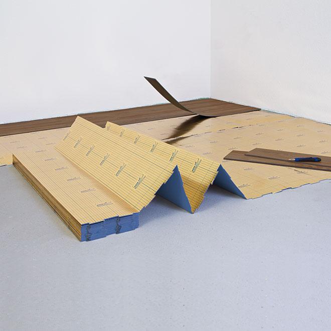 sous couche isolante pour sol en lvt 99 pi2 rona. Black Bedroom Furniture Sets. Home Design Ideas