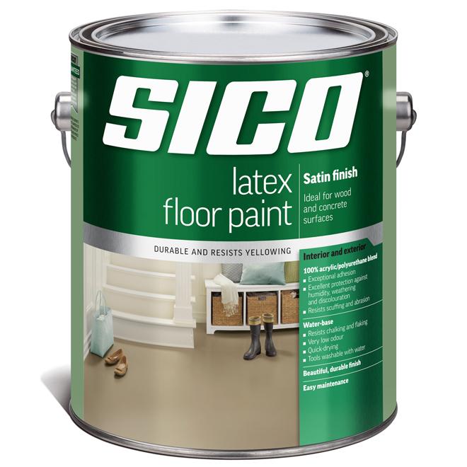 Paint Acrylic Floor Latex Rona