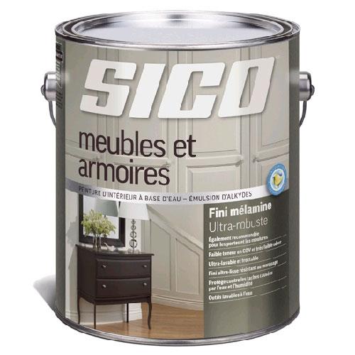 Peinture d 39 int rieur pour meubles et armoires rona - Peinture pour meuble melamine ...