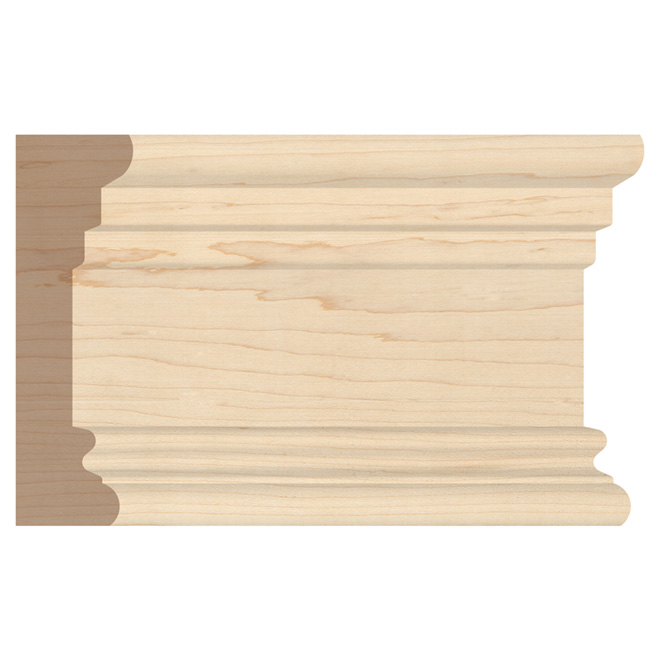 "Maple Architrave - 1 1/8"" x 3 3/4"" - Natural"