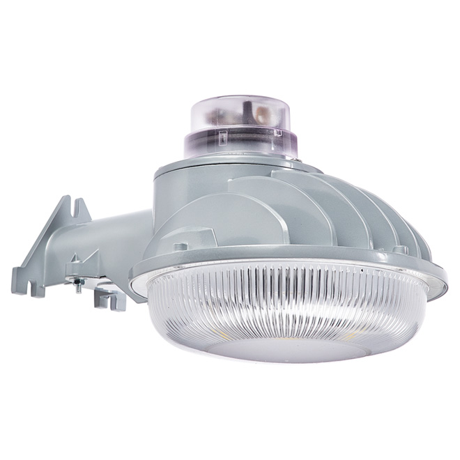Non-Motion Wall-Mount LED Security Light - Grey