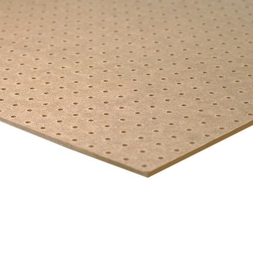 Standard Hardboard Pegboard 1 8 Quot X 4 X 8 Rona