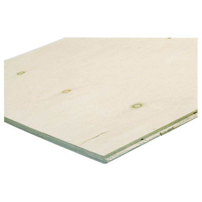 "Fire-Resistant Treated Plywood - 3/4"" x 4' x 8'"
