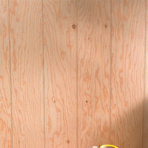 Wood Siding Panel With A Cedar Finish 4 X 8 Rona