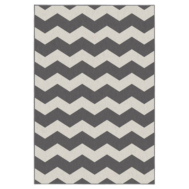 """Onorus"" Interior Rug 5' x 7' - Grey"