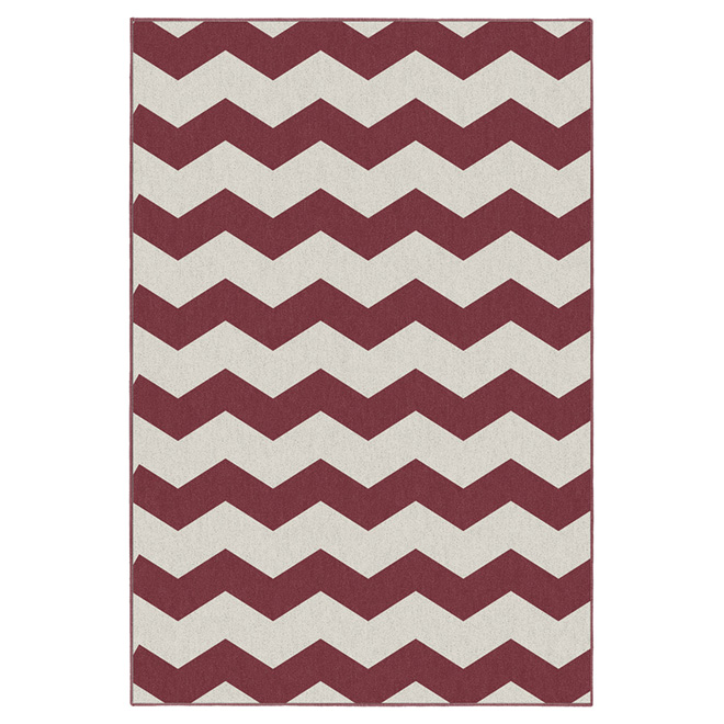 """Onorus"" Interior Rug 7' x 10' - Red"