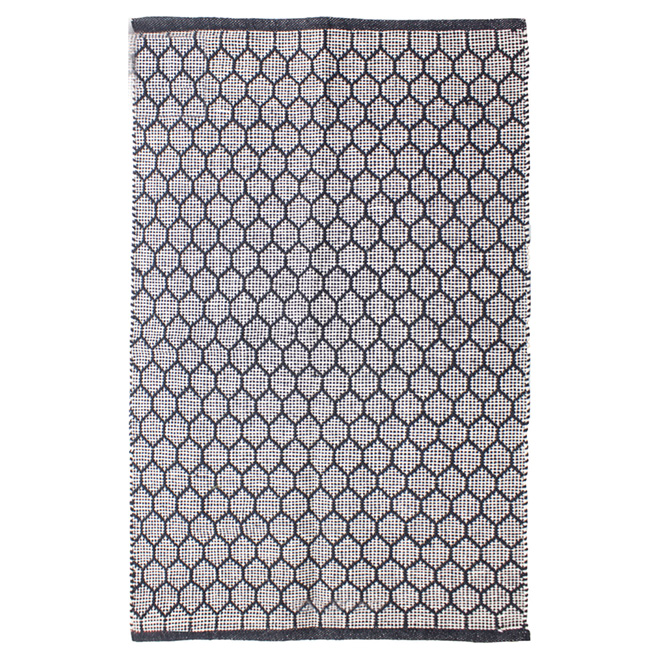"Area Rug - Starion - Cotton - 25"" x 45"" - Grey"