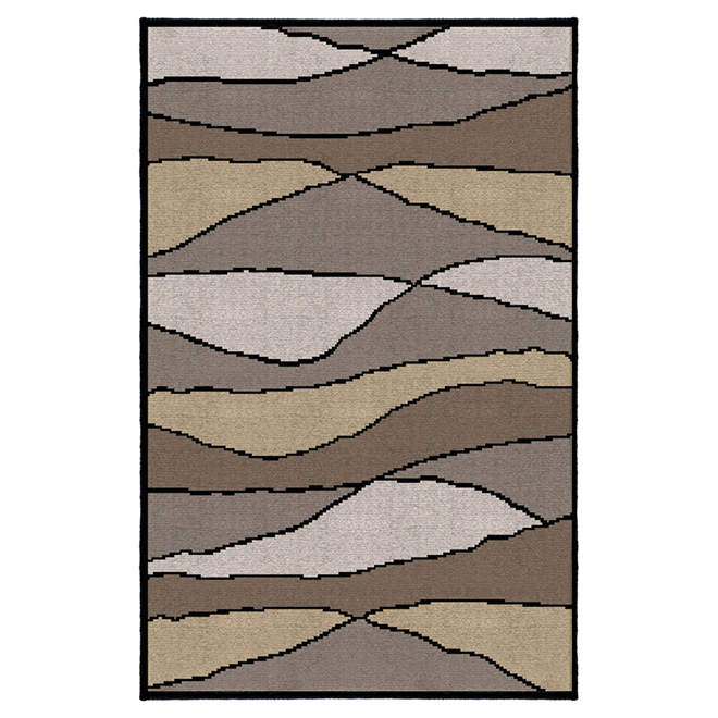 """Wave"" Accent Rug - 32"" x 46"" - Neutral"