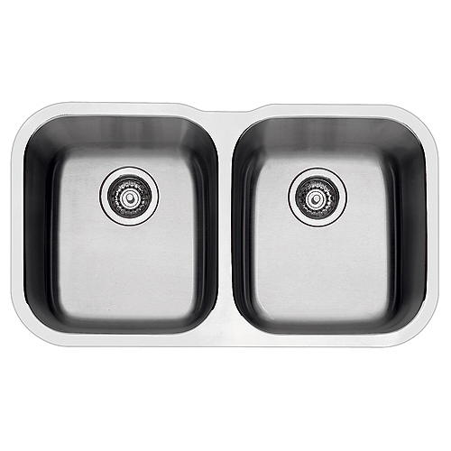blanco essential undermount double kitchen sink - Rona Kitchen Sink