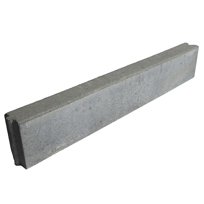 """Bordt"" Concrete Landscaping Edger - 3"" x 6"" x 3'"