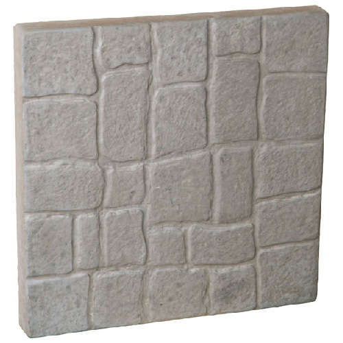 """Antique"" Concrete Patio Stone 15"" x 15"" - Grey"
