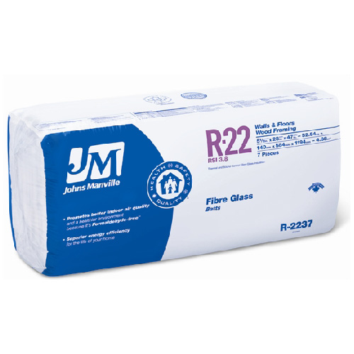 Fiberglass Insulation R22 - 52,55 sq.ft.