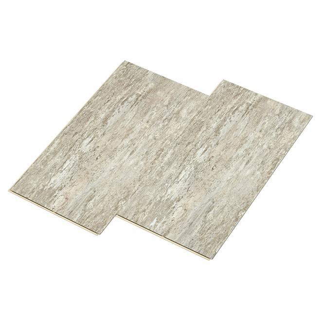 comment installer le plancher de vinyle de planche sur le carreau