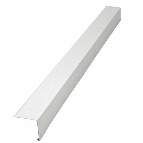 Moulure en l en aluminium blanc rona for Aspect de l aluminium