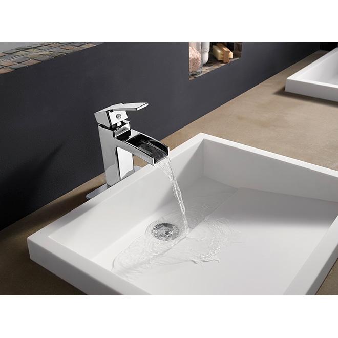 Quot Kamato Quot Lavatory Faucet Polished Chrome Rona