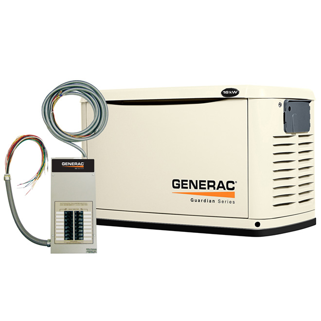 """Guardian"" Series 16,000 W Stationary Generator"
