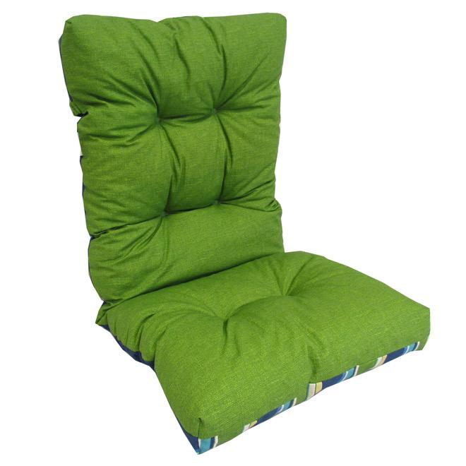 coussin r versible pour chaise d 39 ext rieur dossier haut
