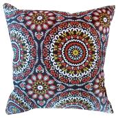 Patio Decorative Cushion - Reversible - Red/Coral