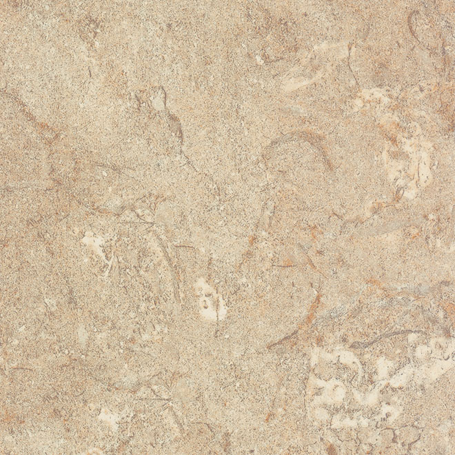 "Comptoir moulé 2300, Travertine, 25"" x 10'"