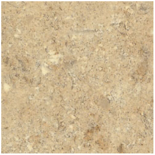 "Comptoir moulé 2300, Travertine, 22"" x 5'"
