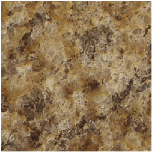 "Comptoir moulé 2300, Butterum Granite, 25,5"" x 6'"