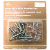 Heavy Duty Mirror Mounting Clips
