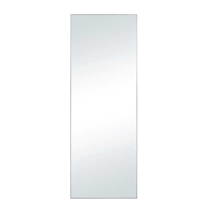 "Mirror with Silver Frame - 14"" x 54"""