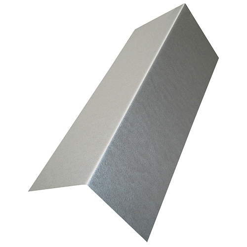 "Brown Galvanised Steel Valley Flashing 9"" x 9"" x 8'"