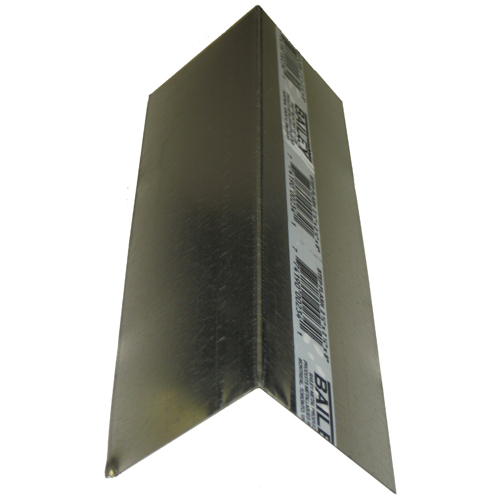 "Galvanized Steel Step Flashing 1/2"" x 2 1/2"" x 8"""