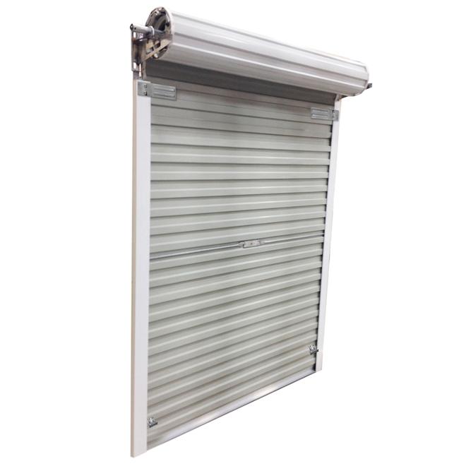 Roll Up Steel Door For Shed 5 Ft X 6 Ft White Rona