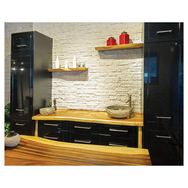 Comptoir pour cuisine ou salle de bain 78 po rona for Hauteur comptoir salle de bain