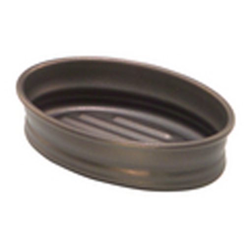 Cameo Soap Dishes - Bronze finish Metal