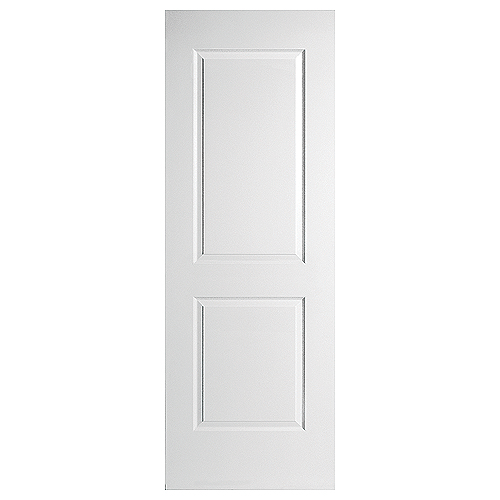 Smooth 2-Panel Interior Door