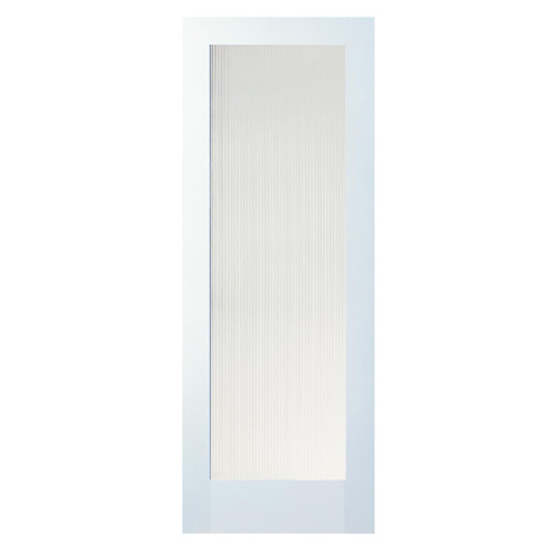 "1-Panel MDF French Door - 30"" x 80"""