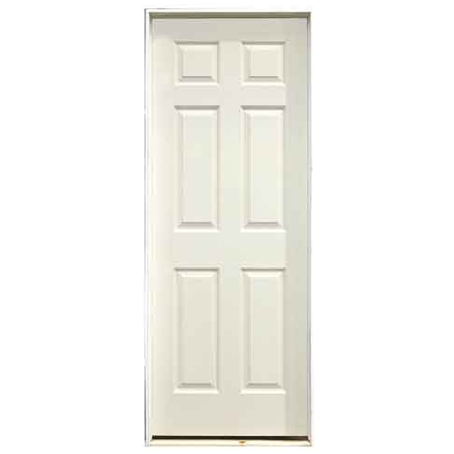 "6-Panel Pre-Hung Interior Door - 24"" x 78"" - Right"