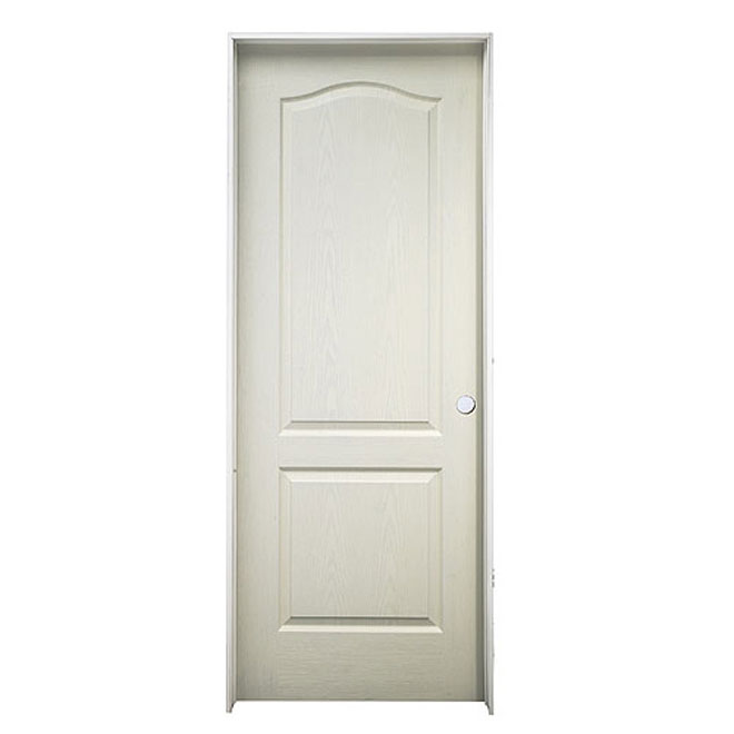 "2-Panel Arch-Top Pre-Hung Door 28"" x 80"" - Right"