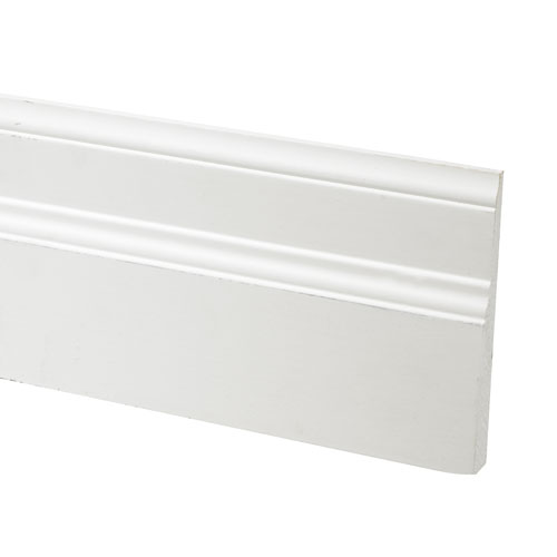 Primed Finger Jointed Poplar Baseboard