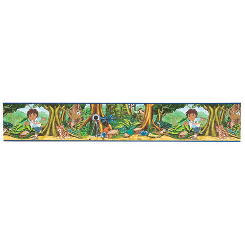 "Self-Stick Border - Diego - 5"" x 15'"