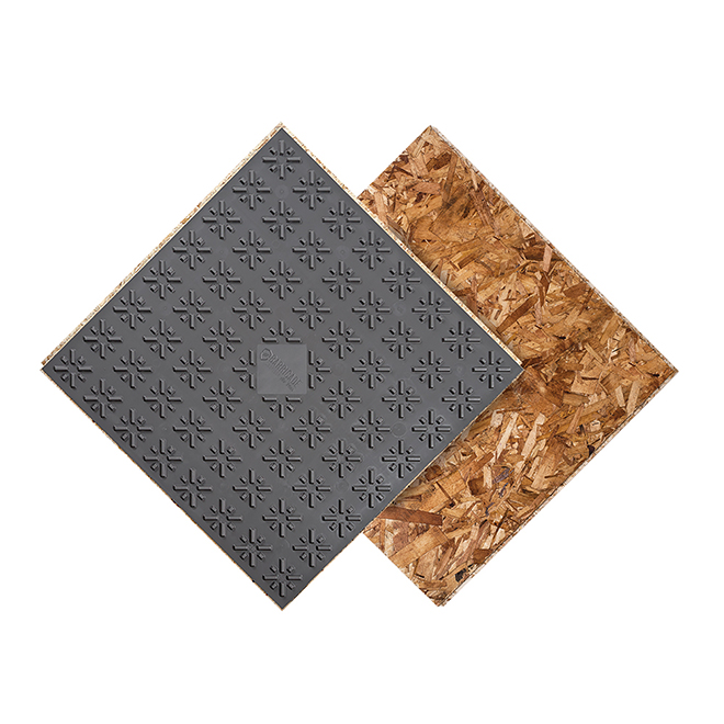 "Subfloor Panel With Air Gap Technonoly- 7/8"" X 23"" X 23"
