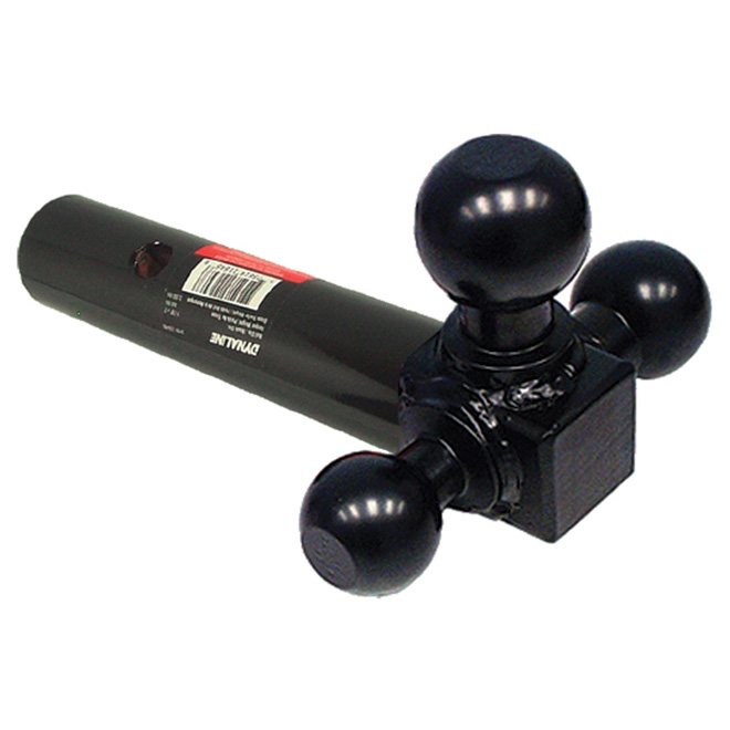 Trailer Triple-Ball Mount - Round-Shank