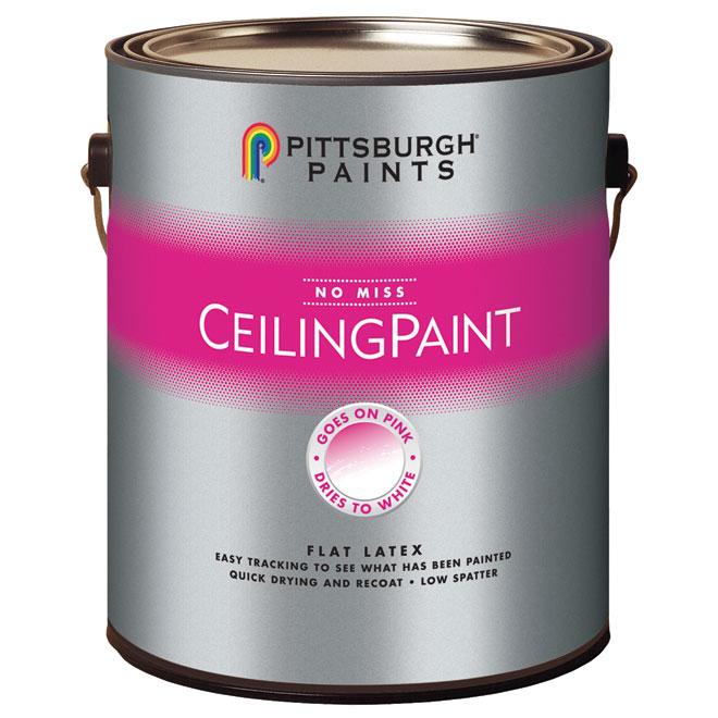 Peinture à couleur changeante pour plafond, 3,78 l,blanc mat | RONA