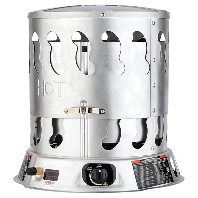 Chauffage portatif au gaz propane rona for Chauffage exterieur propane