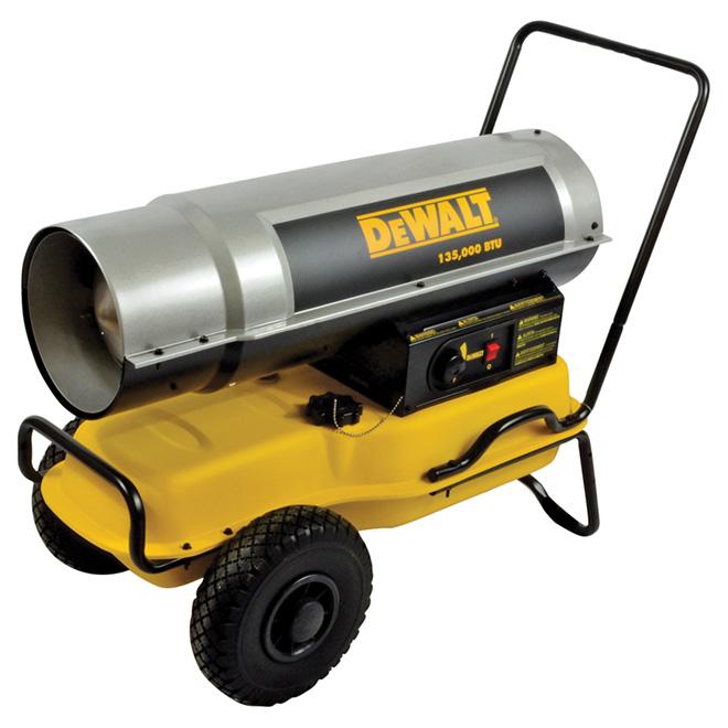 Job Site Forced Air Heater 135 000 Btu Rona