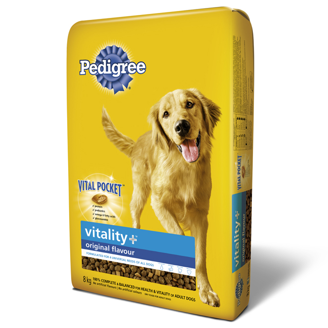 "Dry Dog Food - ""Vitality Plus"" - 8 kg"