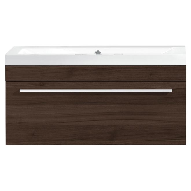 Meuble lavabo rona cool lavabo encastrable ovation with for Armoire salle de bain rona
