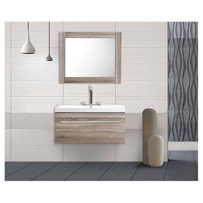 meuble lavabo 1 tiroir 30 1 8 ch ne l ger rona. Black Bedroom Furniture Sets. Home Design Ideas