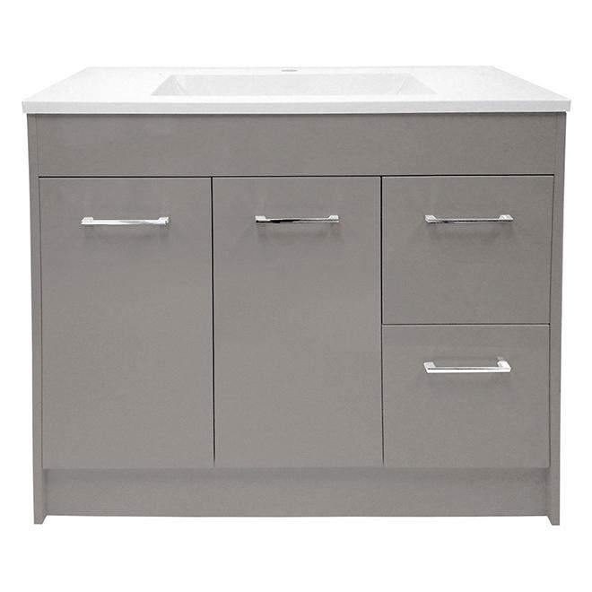vanity 2 doors 2 drawers mdf grey - Bathroom Cabinets Kelowna